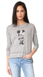 David Lerner Minnie Pullover Light Heather Grey