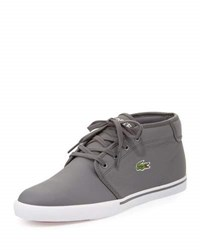 Lacoste Ampthill Leather Chukka Sneaker Gray