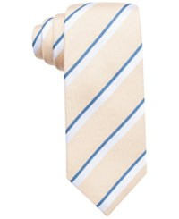 Countess Mara Men's Lucerne Stripe Classic Tie Yellow