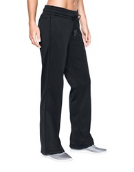 Under Armour Straight Track Pants Black