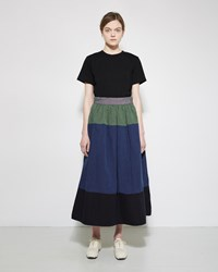 Visvim Elevation Long Skirt Green
