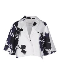Laviniaturra Suits And Jackets Blazers Women Dark Blue