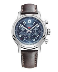 Chopard 42Mm Mille Miglia Classic Racing Chronograph Watch With Leather Strap