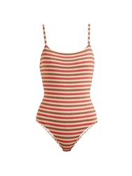 Solid And Striped The Nina Swimsuit Multi Stripe