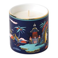 Wedgwood Wonderlust Scented Candle Blue Pagoda Lotus And White Jasmine