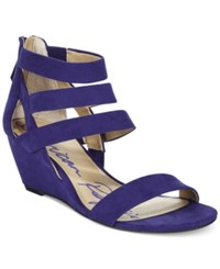 American Rag Casen Demi Wedge Sandals Only At Macy's Women's Shoes Ultramarine