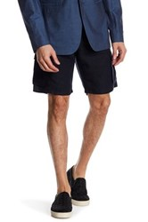 John Varvatos Military Cargo Short Blue