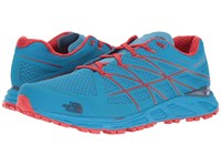 The North Face Ultra Endurance Hyper Blue High Risk Red Prior Season Running Shoes
