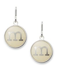 Alex And Ani Initial M Necklace Charm Silver