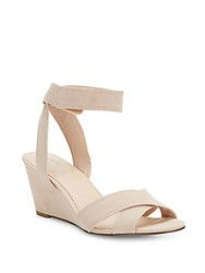 Nine West Risling Wedge Sandals Light Pink