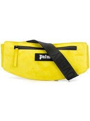Palm Angels Logo Patch Belt Bag Yellow