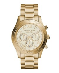 Michael Michael Kors Chronograph Bracelet Watch Gold