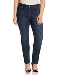 Lucky Brand Plus Emma Faded Straight Leg Jeans In Mystic Road Goleta