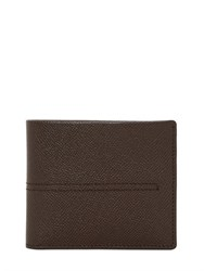 Tod's Stitched Grained Leather Classic Wallet