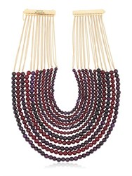 Rosantica Raissa Beaded Multi Strand Necklace