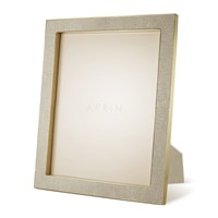 Aerin Classic Shagreen Frame Wheat 8X10 Neutral