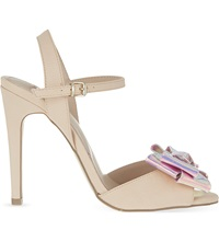 Miss Kg Fancy Heeled Sandals Nude