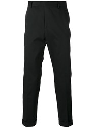 Gucci Slim Fit Chino Trousers Black