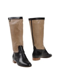 Dibrera By Paolo Zanoli Footwear Boots Women Dark Brown