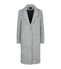 Maje Lea Longline Coat Female Grey