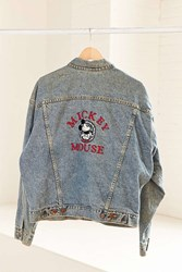 Urban Renewal Vintage Classic Mickey Mouse Denim Jacket Assorted