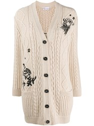 Red Valentino Embroidered Cardigan 60