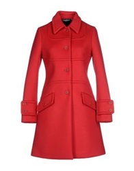 Adele Fado Coats Red