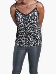 Hush Animal Print Camisole Top Green Multi