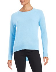 Lord And Taylor Cashmere Sweater Blue Coast