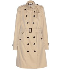 Burberry Sandringham Trench Coat Beige