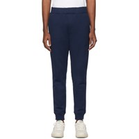 Nanamica Navy French Terry Lounge Pants