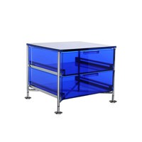 Kartell Mobil 2 Drawer Blue