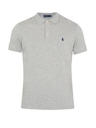 Polo Ralph Lauren French Terry Towelling Shirt Grey