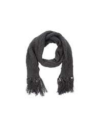 M.Grifoni Denim Accessories Oblong Scarves Women Steel Grey