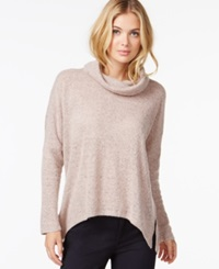 Bar Iii Cowl Neck Snit Top Only At Macy's Pink Bud
