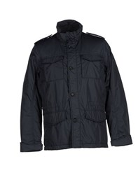 Armata Di Mare Coats And Jackets Down Jackets Men Dark Blue