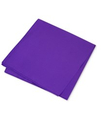 Club Room Men's Simple Solid Pocket Square Only At Macy's Purple