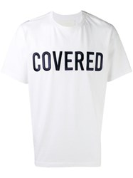 Juun.J 'Covered' Patch T Shirt White