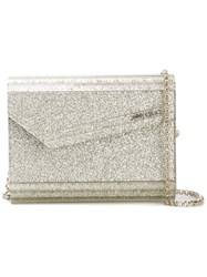 Jimmy Choo Candy Clutch Nude Neutrals