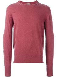 Editions M.R Crew Neck Pullover Pink And Purple