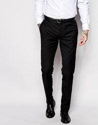 Antony Morato Tuxedo Suit Trousers In Slim Fit Black9000