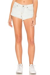 Rvca Hello Mellow Short White Stone Wash