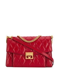 Givenchy Quilted Shoulder Bag Red