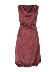 Manila Grace Short Dresses Garnet