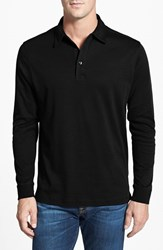 Men's Big And Tall Cutter And Buck 'Belfair' Pima Cotton Polo Black