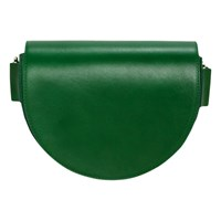 Liebeskind Berlin D Bag Leather Saddle Bag Emerald Green