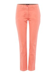 Gant Cropped Chino Coral