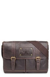 Men's Jack Mason Brand 'Gridiron Vanderbilt Commodores' Leather Messenger Bag