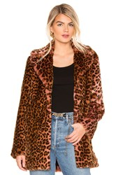 Unreal Fur Perfect Faux Jacket Brown