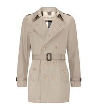 Burberry Long Double Breasted Trench Coat